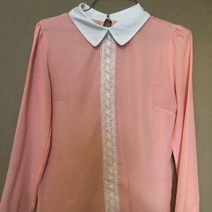 Pink blouse 👚